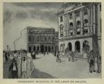 government buildings at Largo do Palacio