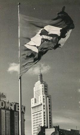 9 - edifício Altino Arantes visto da praça da Bandeira (1954)