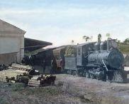 Sao Bento, Eisenbahnstation