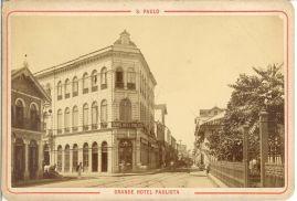 Grande Hotel Paulista (Largo de São Bento esq. rua Boa Vista)