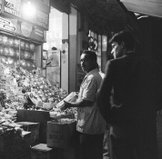 Comércio de rua no Anhangabaú - 1961