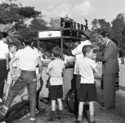 Jardins do Museu do Ipiranga - 1960